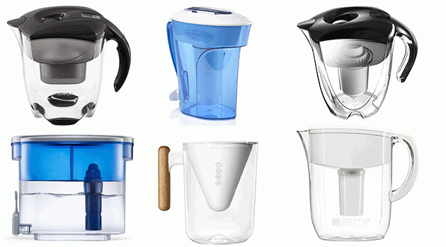 pitcher water filters